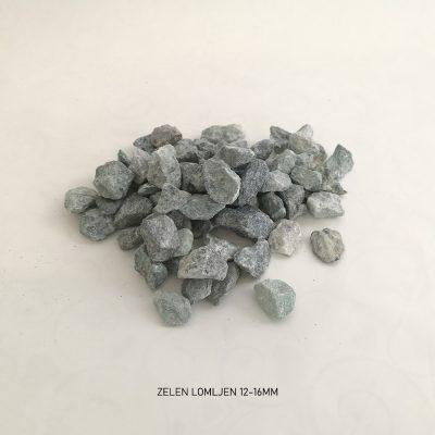 pesek zelen lomljen 12 16mm