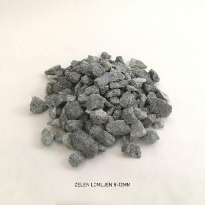 pesek zelen lomljen 8 12mm 1