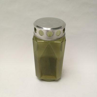 sveca kocka mini zelena 1