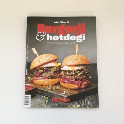 knjiga burgerji hot dogi